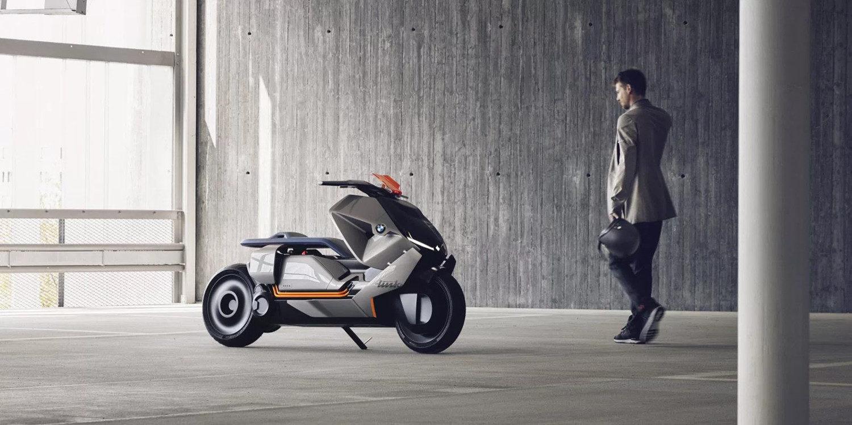 BMW hace público el Motorrad Concept Link