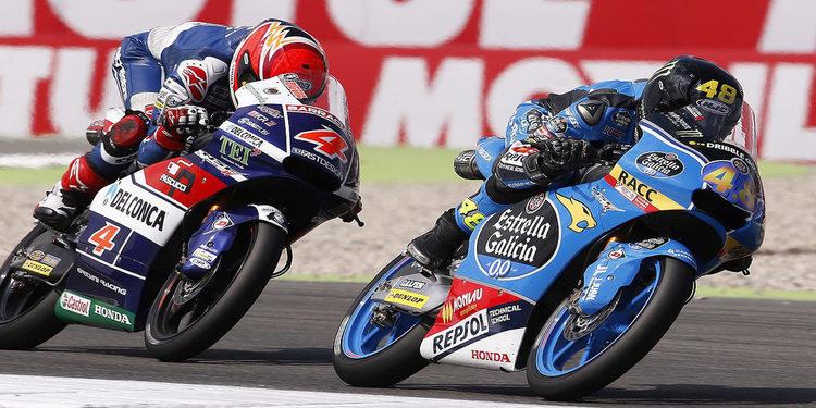 Los pilotos italianos no dan opción alguna en Moto3