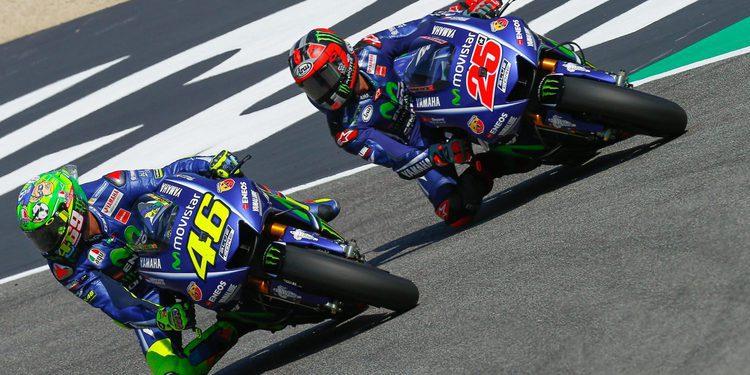 Viñales muerde en casa de Rossi
