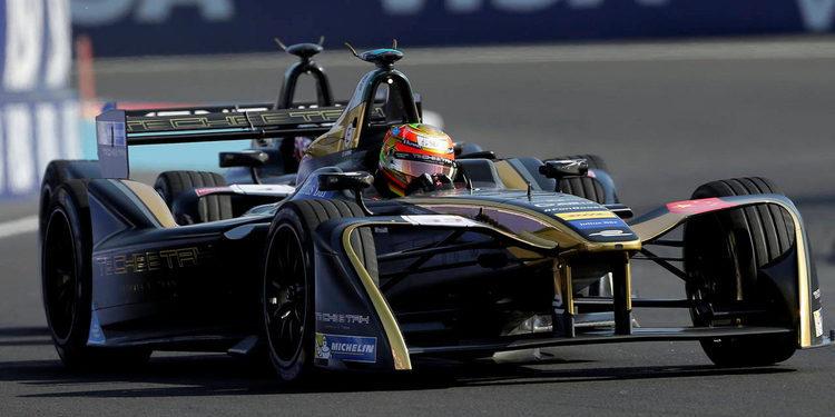 Esteban Gutiérrez abandonó la categoría eléctrica