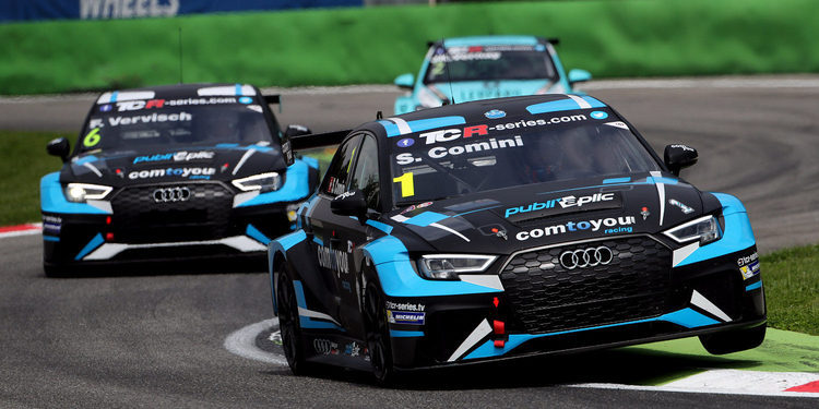 Reparto de pesos de las TCR International Series para Salzburgring 2017