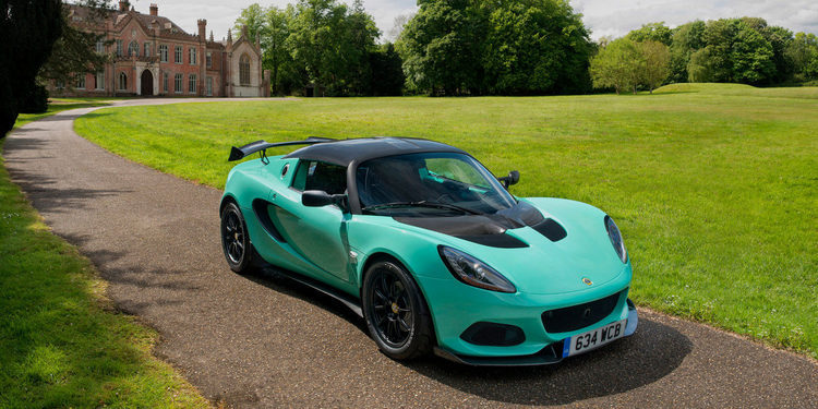 La prestigiosa Lotus mostró el Elise Cup 250