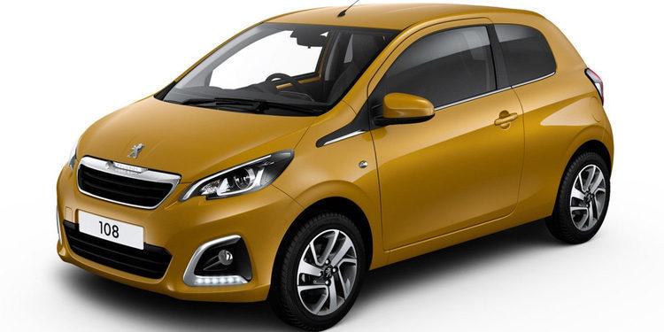 Peugeot lanzó el colorido 108 Collection