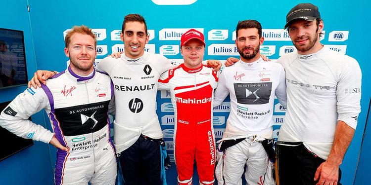 Calificación al segundo Eprix de Berlin de la Fórmula E