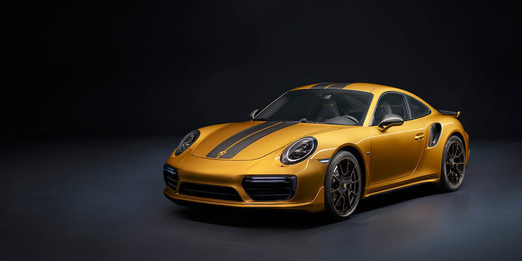 Porsche se luce presentando el 911 Turbo S Exclusive Series