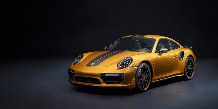 Porsche se luce presentando el 911 Turbo S Exclusive Series