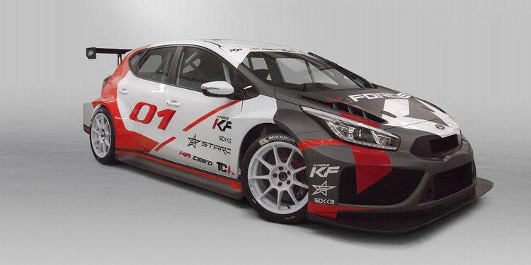 El Kia Cee'd debutará en las TCR International Series este fin de semana