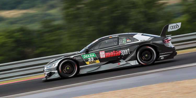 René Rast y Audi Sport dominan la primera clasificación de Budapest