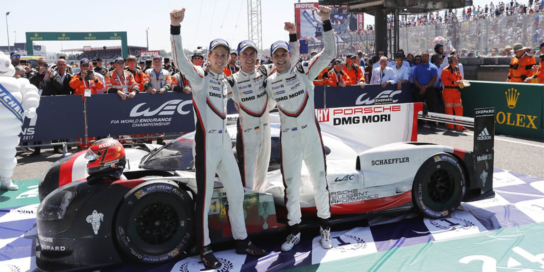 Victoria 19 de Porsche en las 24 Horas de Le Mans