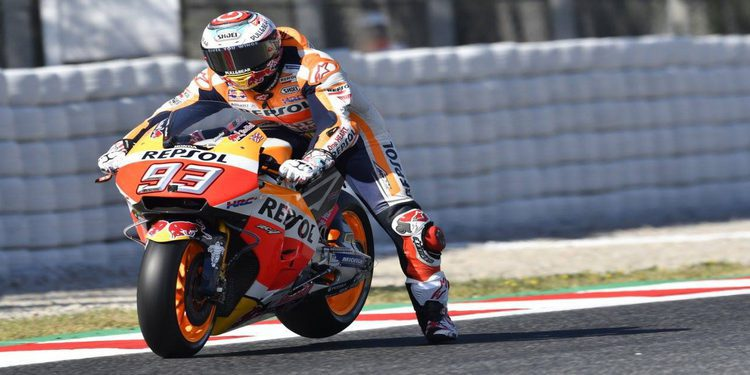 """Marc Márquez: """"Tenemos ganas de volver a subir a la moto y continuar al mismo nivel"""""""