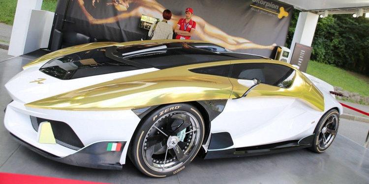 La marca Frangivento presentó el Charlotte Roadster