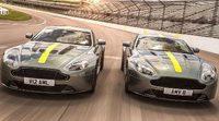 Aston Martin hace gala del poderoso Vantage AMR