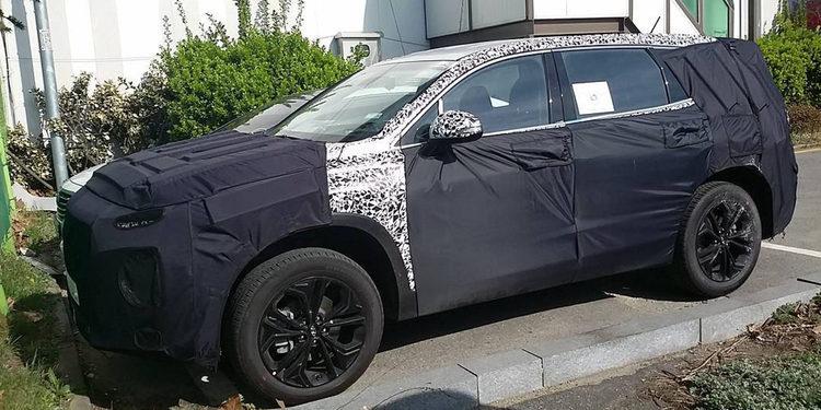 Hyundai Santa Fe 2018 en desarrollo