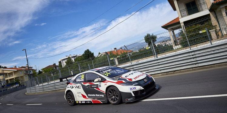 Honda se lleva las dos 'poles' de Vila Real, Portugal