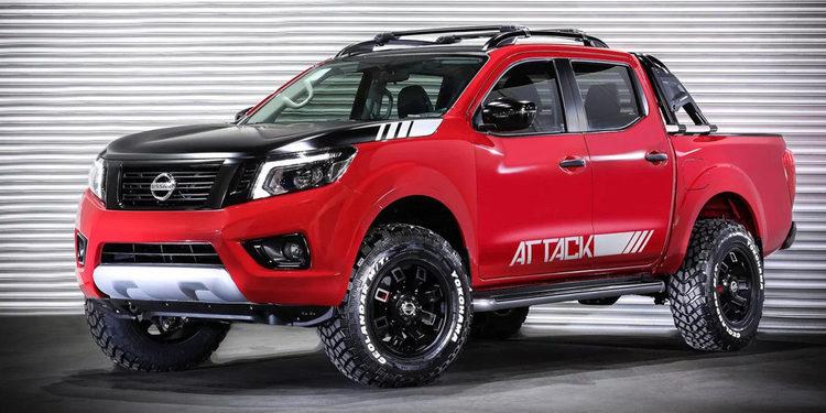 Nissan presentó la NP300 Frontier Attack Concept, La Bestia.