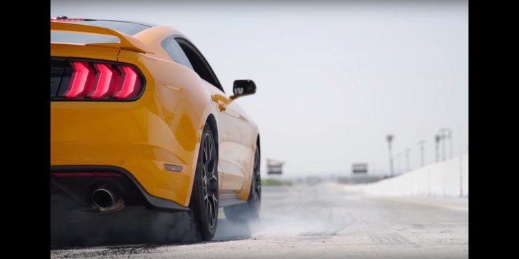 Ford Mustang 2018 y su novedoso sistema para burnout