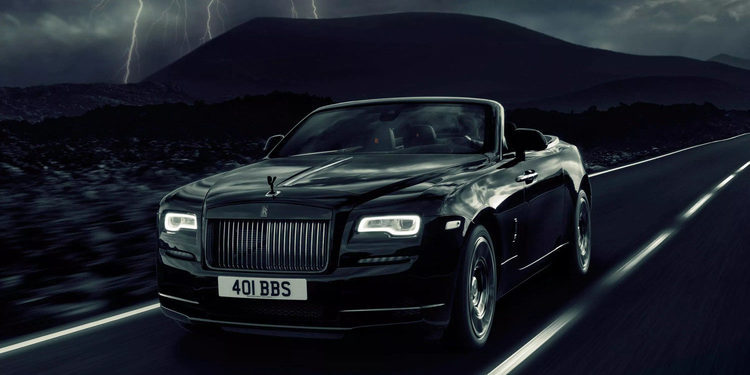 Rolls Royce presenta el Dawn Black Badge