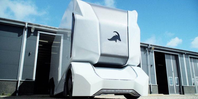 Einride y su nuevo camión autónomo T-Pod