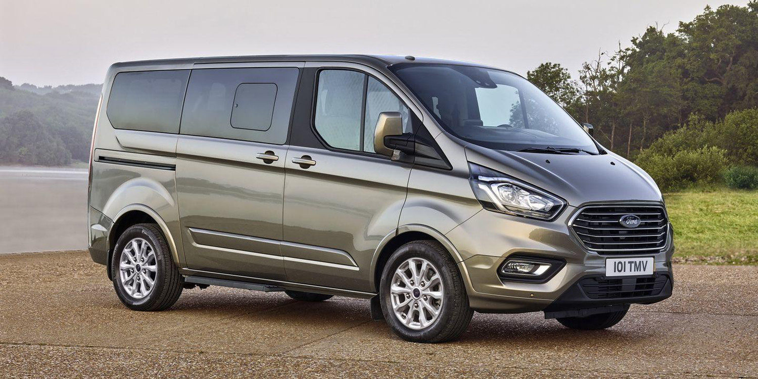 Ford renovó la Tourneo Custom