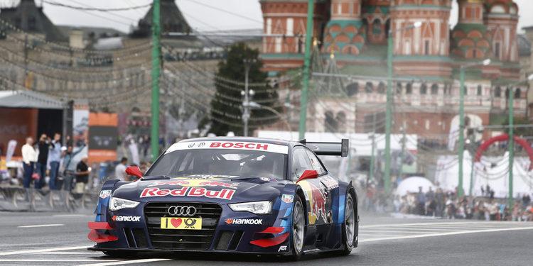 Audi llega a Rusia liderando los tres campeonatos