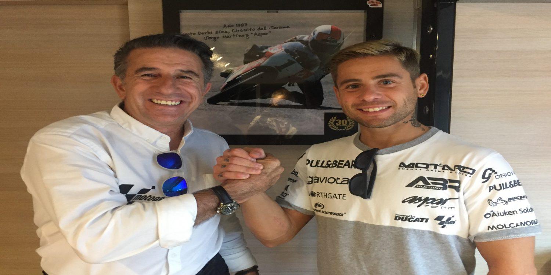 Álvaro Bautista continuará con Aspar en 2018