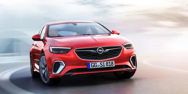 Opel anunció el lanzamiento del Insignia GSI