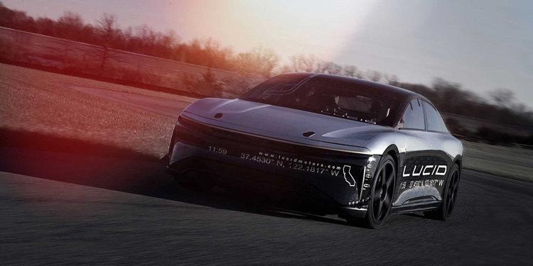 El espectacular Lucid Air Alpha Speed Car