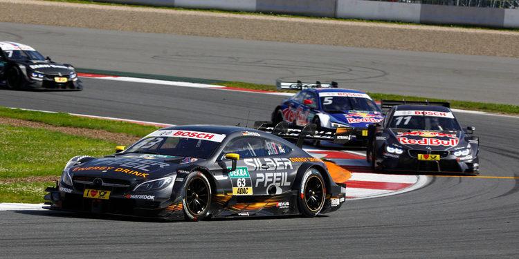 Maro Engel logra su primera victoria en el DTM