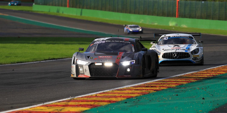 Audi logra su cuarta victoria en las 24 Horas de Spa