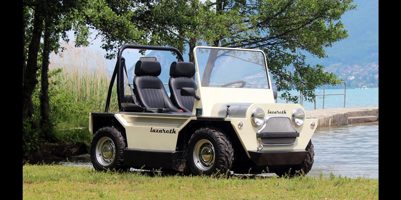El nuevo Mini Moke Anfibio será la sensación del verano