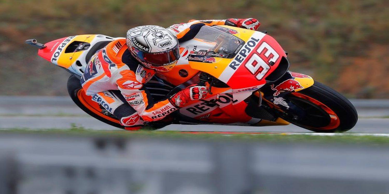 Márquez se anota la pole en Brno