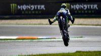 Rossi lidera los test de Brno de MotoGP
