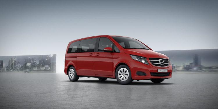 Mercedes-Benz presenta la furgoneta Clase V Rise