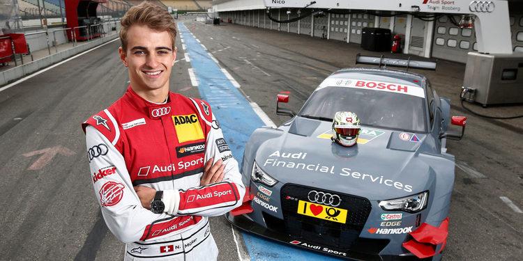 Mattias Ekström hará debutar a Nico Müller en el rallycross