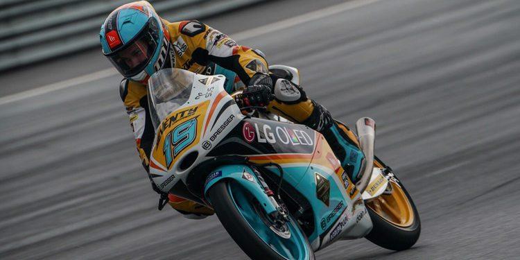 Moto3. Gabriel Rodrigo vuela en Austria y consigue la Pole