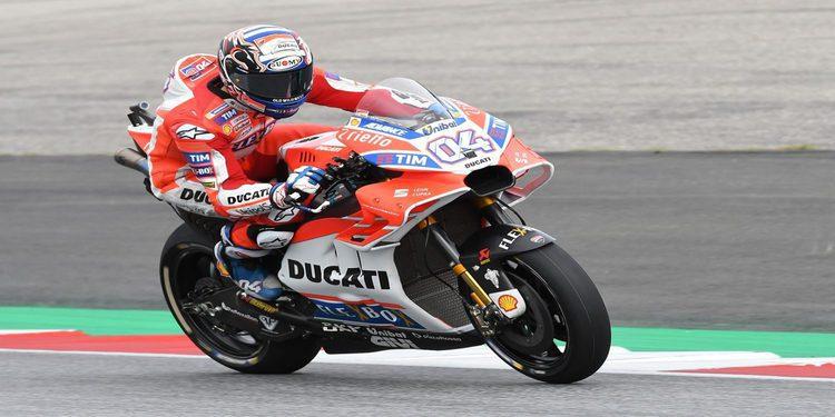 """Andrea Dovizioso: """"Hemos hecho una buena sesión de clasificación"""""""