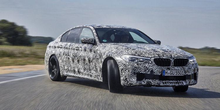 BMW anunció el lanzamiento del nuevo M5 2018