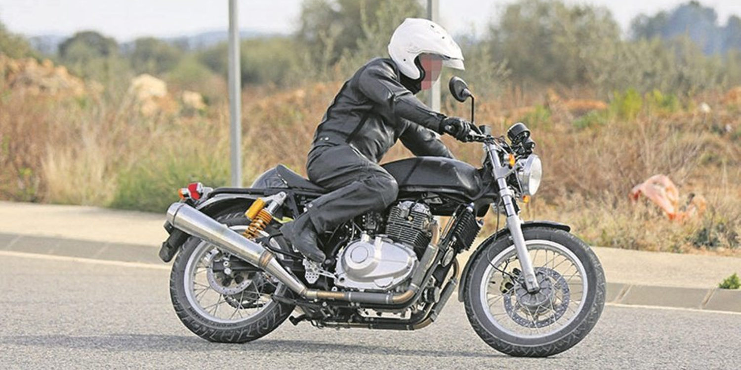 Royal Enfield Continental GT 750 en dos versiones