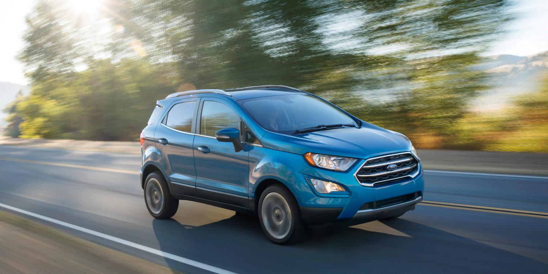 La nueva Ford EcoSport 2018 llegará en septiembre