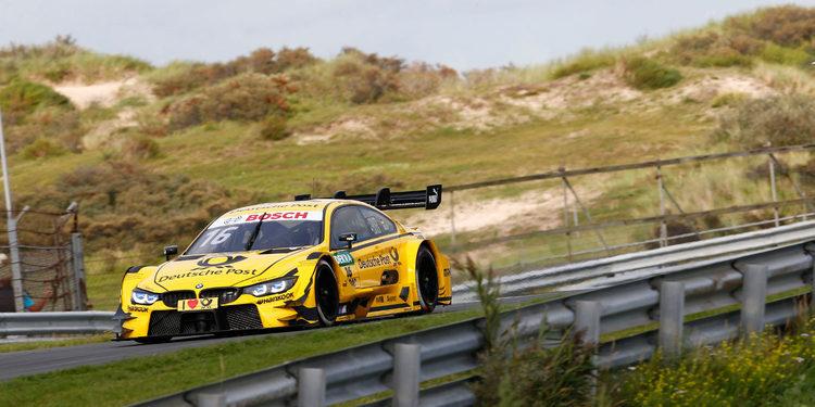 Timo Glock logra la pole para la primera carrera de Zandvoort