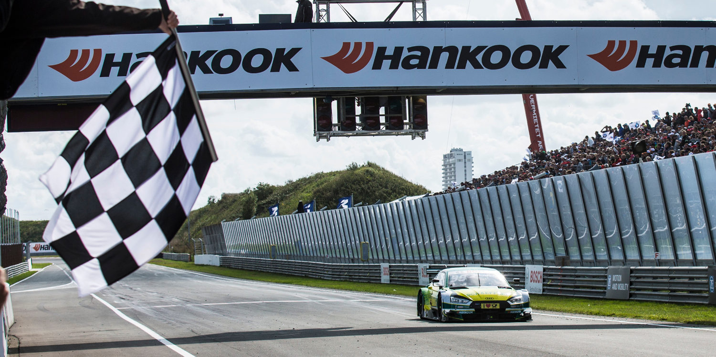 Audi sale con fuerza de Zandvoort