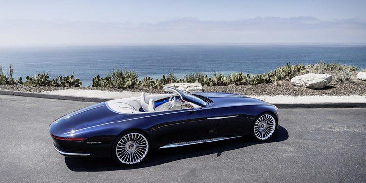 Nuevo Maybach 6 Cabrio, el descapotable de Daimler con vista al pasado