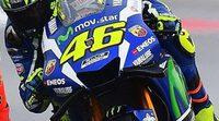 """Valentino Rossi: """"Quiero hacer un buen fin de semana y luchar por el podio"""""""