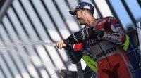 """Andrea Dovizioso: """"Lo que ha pasado hoy es especial para nosotros"""""""