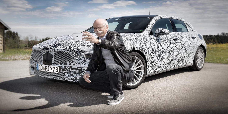 El nuevo Mercedes-Benz Clase A 2018 se deja ver camuflado