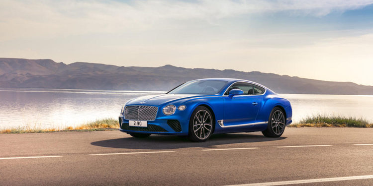 Desvelado el Bentley Continental GT 2018