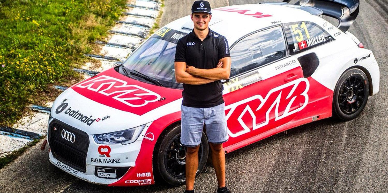 Nico Müller ya posa con su nuevo Audi S1