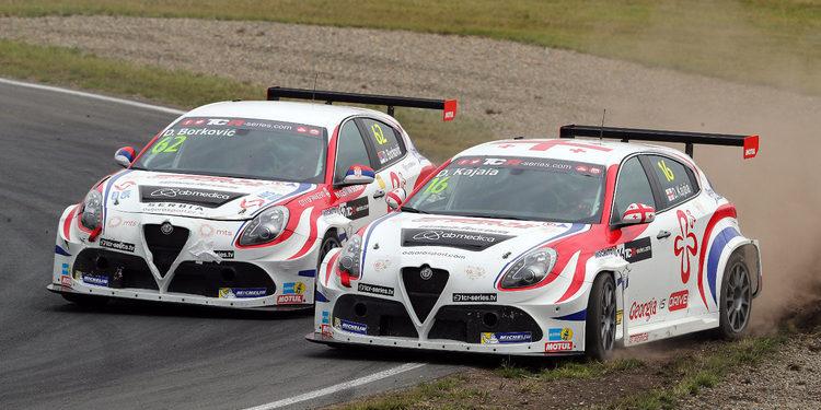 Los Alfa Romeo Giulietta vuelan en los Libres 2 de Buriram