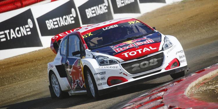Sébastien Loeb lidera el sábado para ser la esperanza local en Lohéac