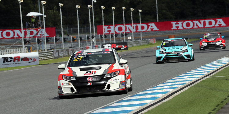 Resultado de la Carrera 1 de las TCR International Series en Buriram, Tailandia 2017